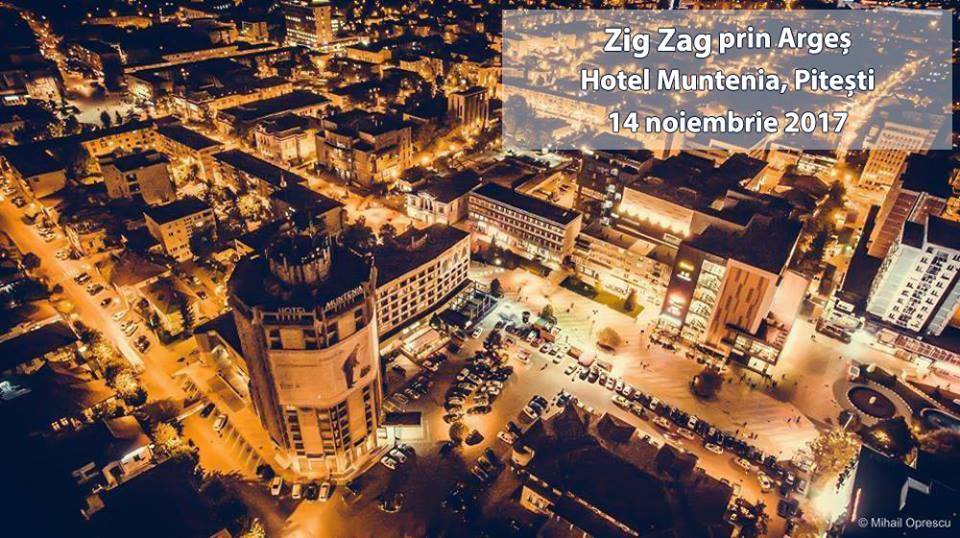eveniment zig zag prin Arges